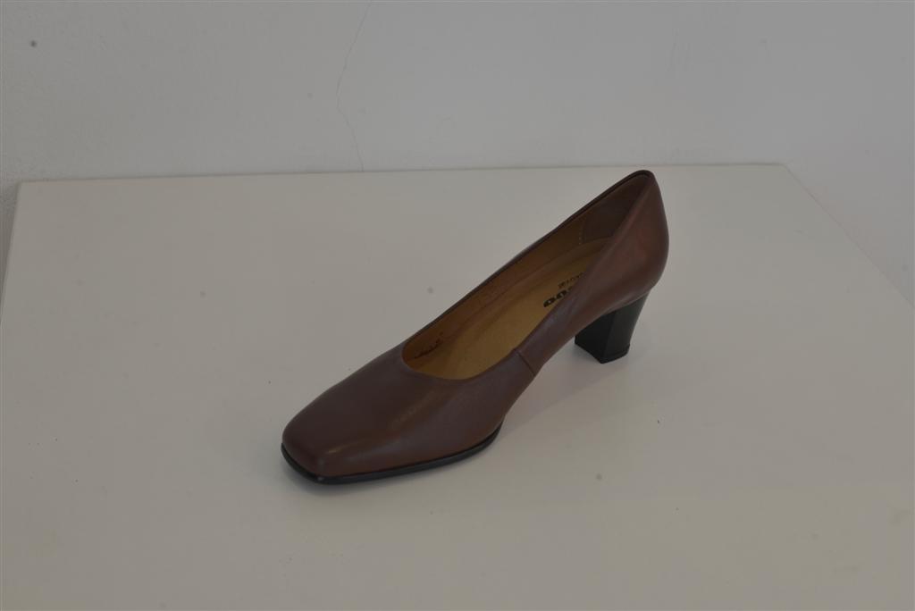Cipele ženske službene niske smeđe HRM