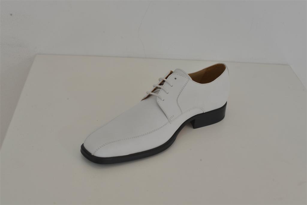 Cipele svečane niske muške bijele HRM