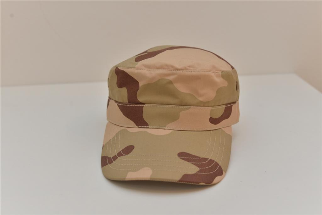Ovalna kapa boje pustinje