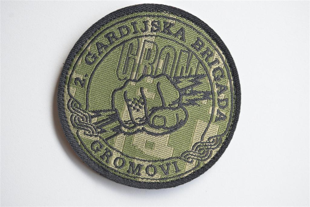 HV oznake digitalna - minizirane vojne brigade
