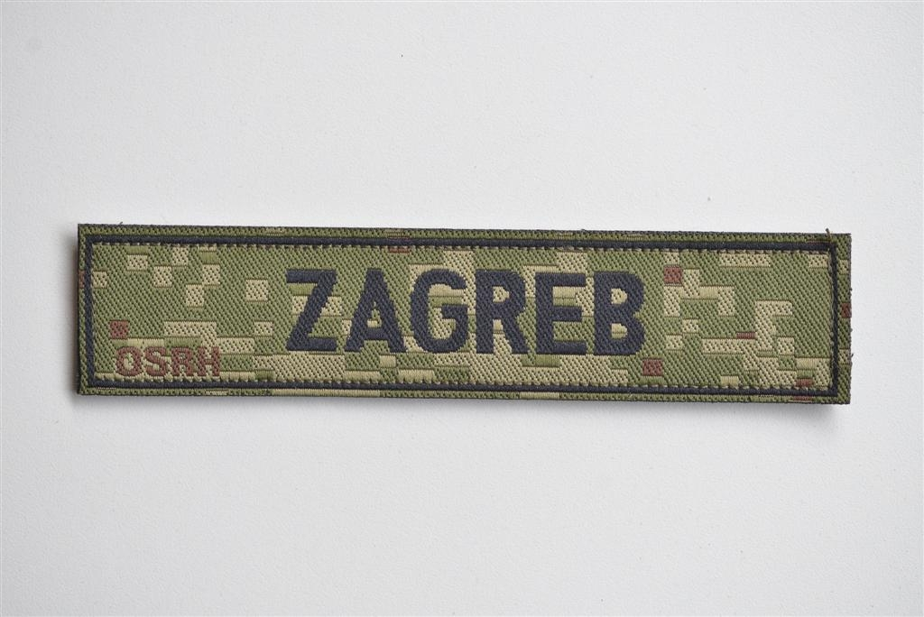 HV digitalan oznaka prezimena na čičak