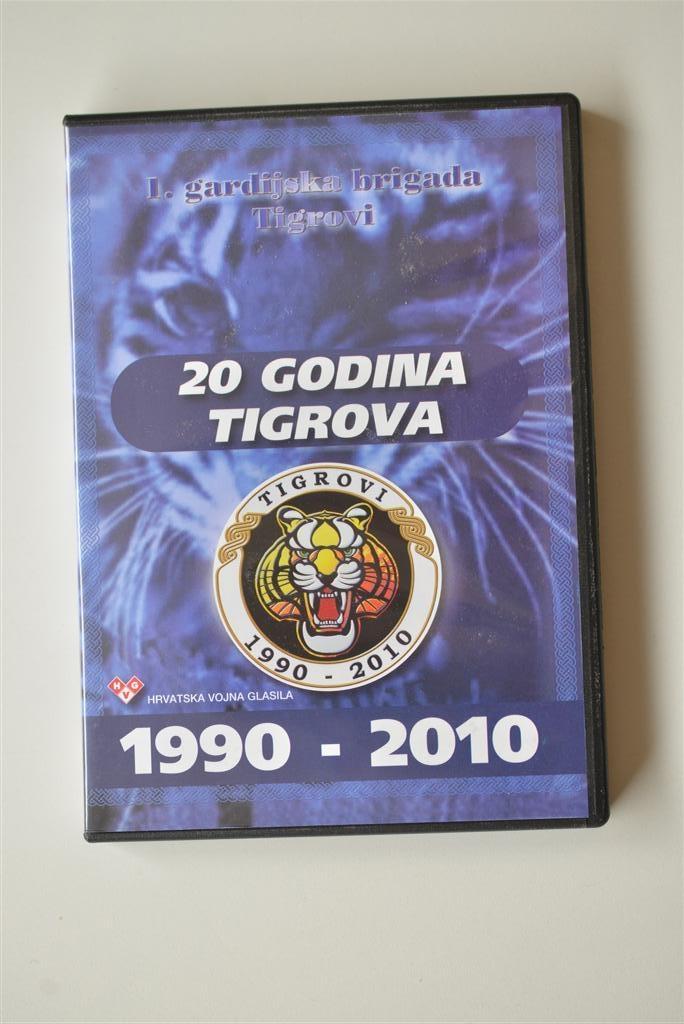 DVD 20 godina Tigrova
