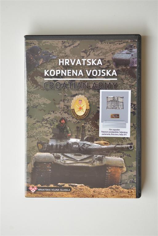 DVD Hrvatska kopnena vojska