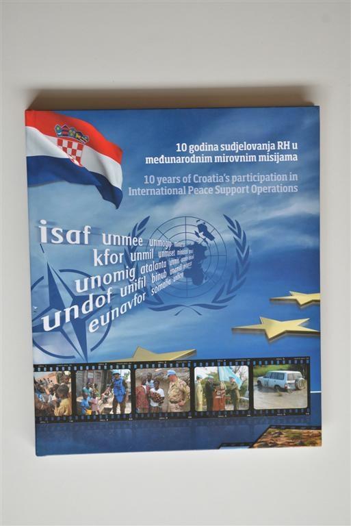 Knjiga - 10 godina sudjelovanja RH u međunarodnim mirovnim misijama