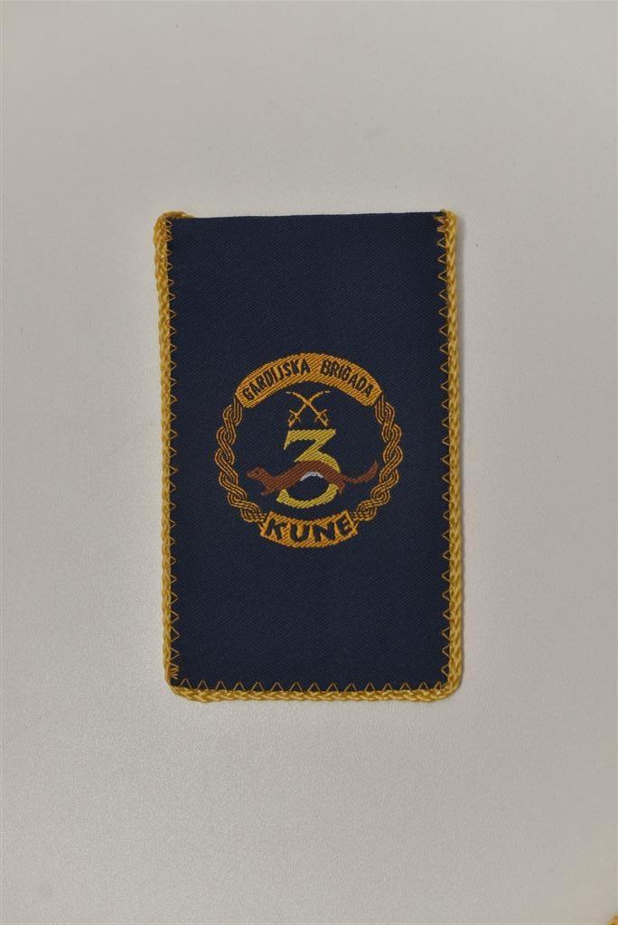 """Tkane zastavice stolne male - 3. gardijska brigada """"Kune"""""""
