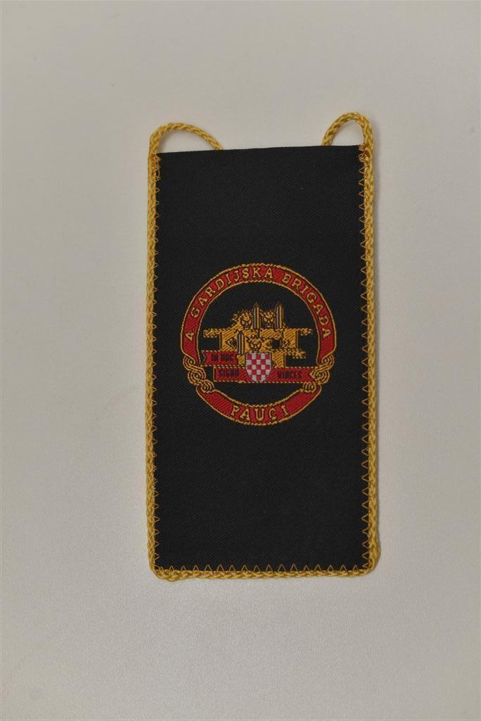"""Tkane zastavice stolne male - 4. gardijska brigada """"Pauci"""""""