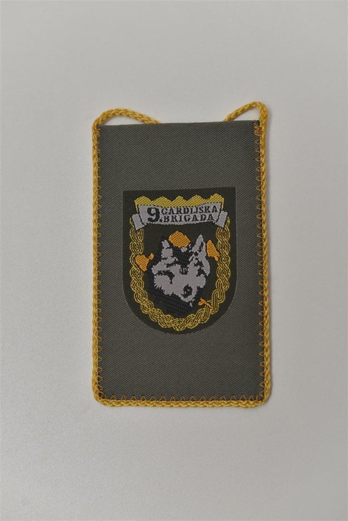 """Tkane zastavice stolne male - 9. gardijska brigada - """"Vukovi"""""""