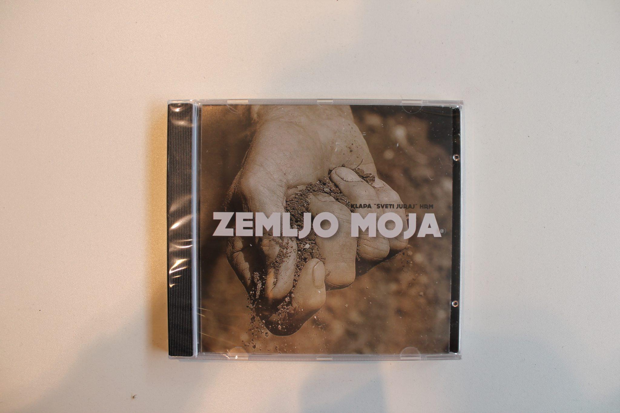 "CD ""ZEMLJO MOJA"" - KLAPA SV. JURAJ"