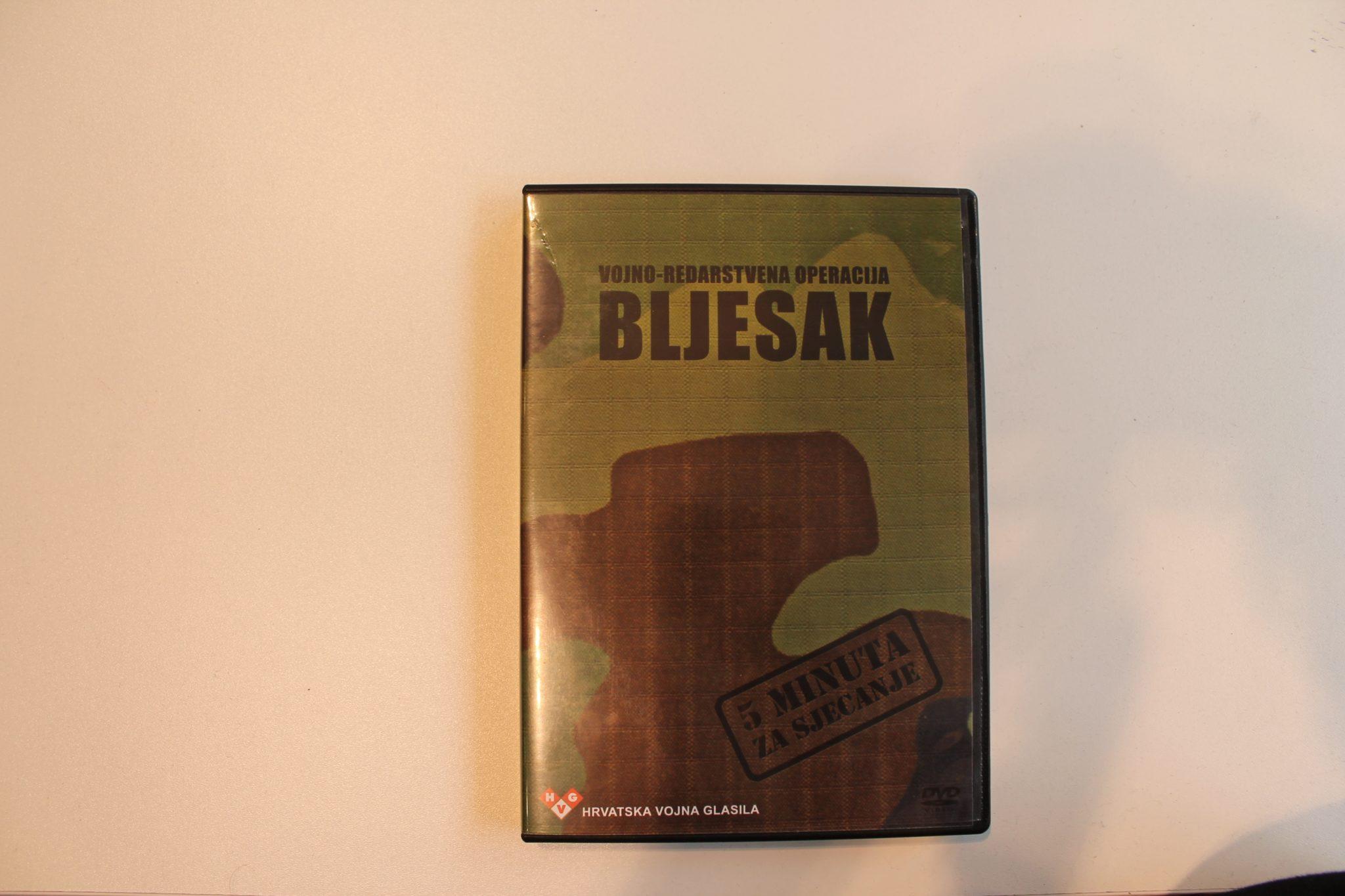 DVD - BLJESAK, 5 MINUTA ZA SJEĆANJE